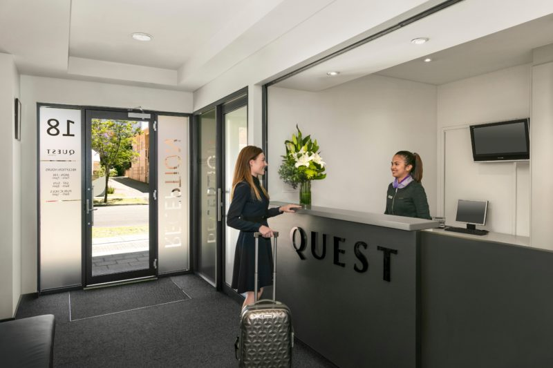 Quest on Rheola Apartment Hotel, West Perth, Western Australia