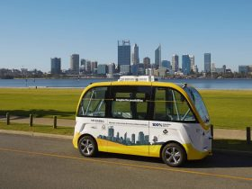 RAC Intellibus - Driverless Vehicle Trial, South Perth, Western Australia