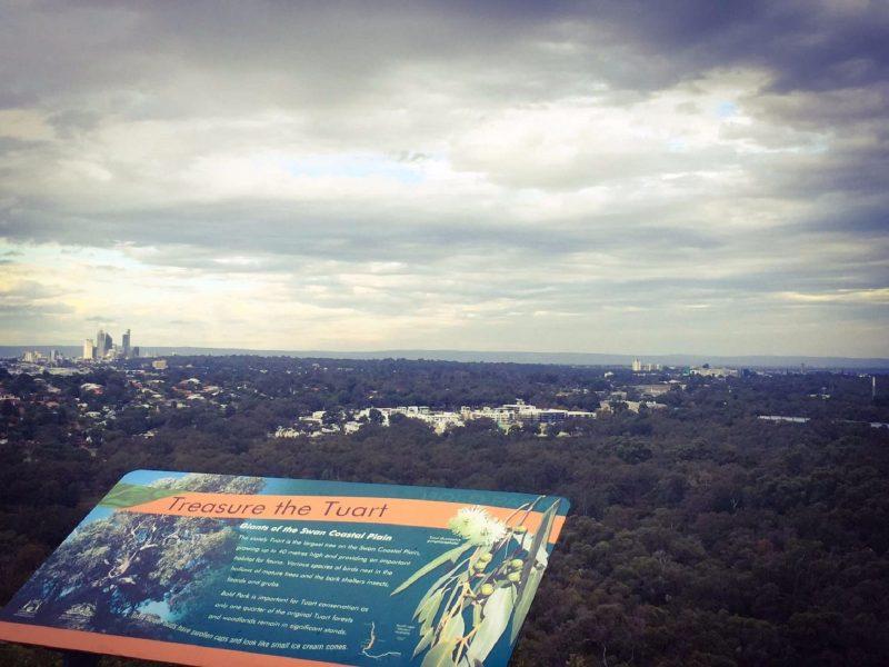 Reabold Hill Summit Boardwalk, Bold Park, Floreat, Western Australia