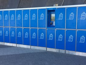 Rent A Locker, Perth Airport, Western Australia