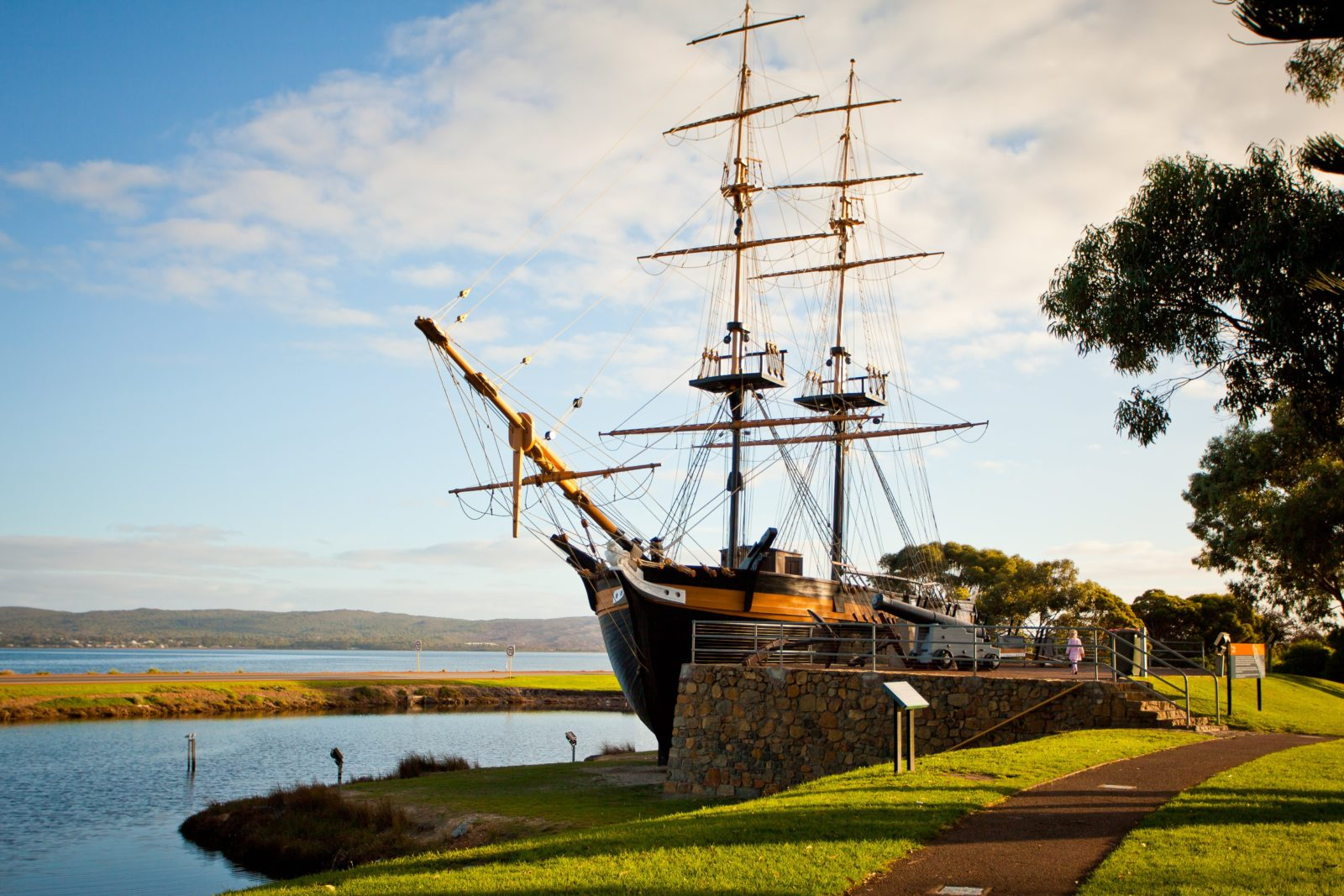 Replica of the Brig Amity, Albany, Western Australia