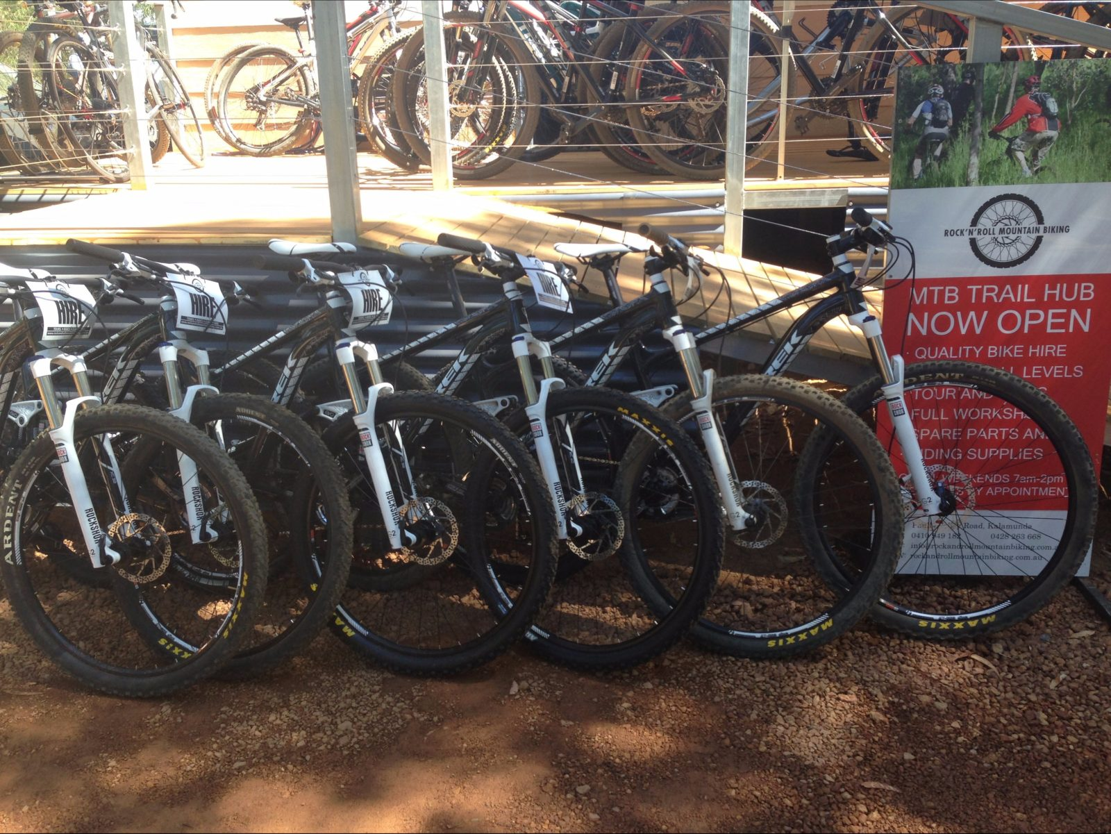 Rock and Roll Mountain Biking Tours, Pauls Valley, Western Australia