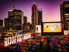 Rooftop Movies, Northbridge, Western Australia