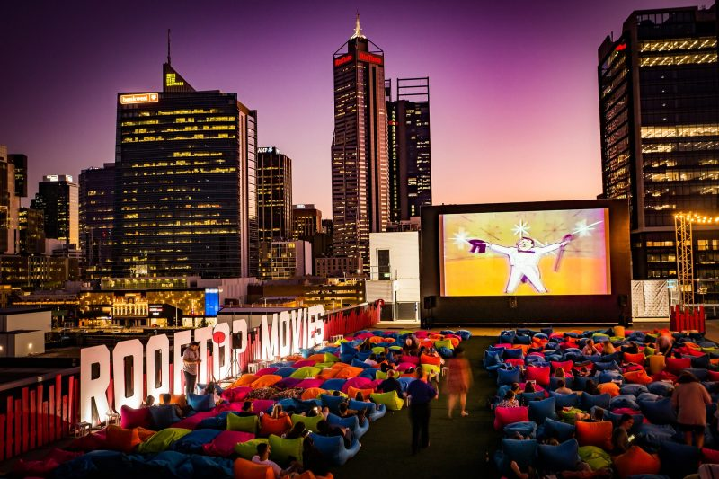 Rooftop Movies, Northbridge, Western Australia