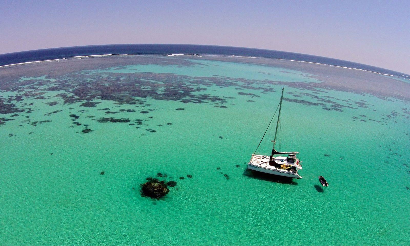Sail Ningaloo, Coral Bay, Western Australia