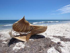 Sculpture at Bathers, Fremantle, Western Australia