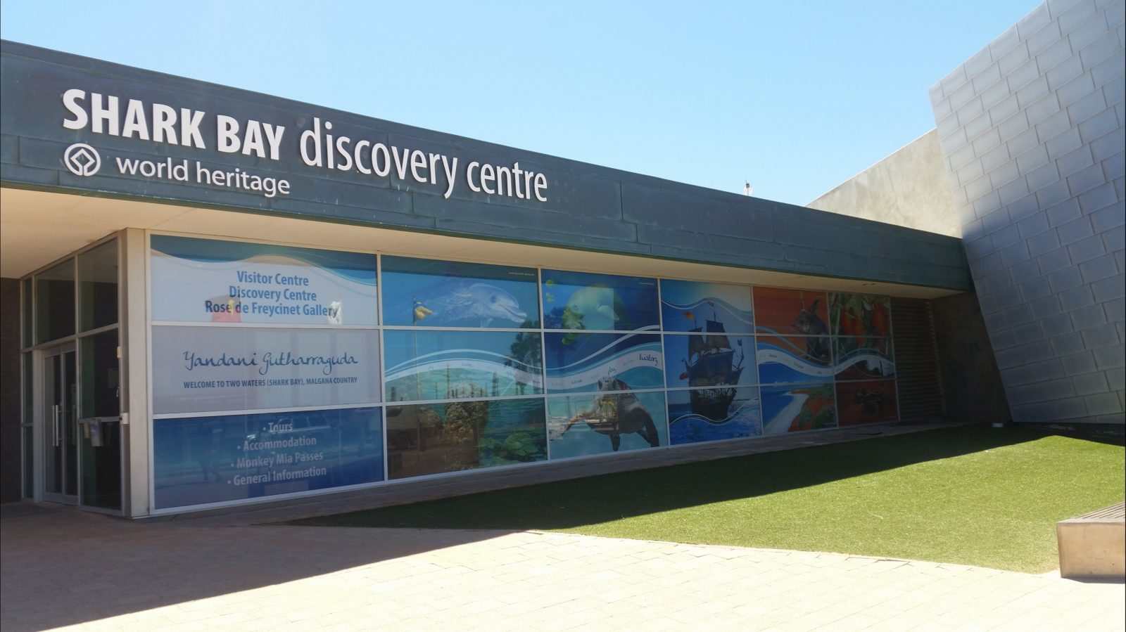 Shark Bay World Heritage Discovery and Visitor Centre, Denham, Western Australia