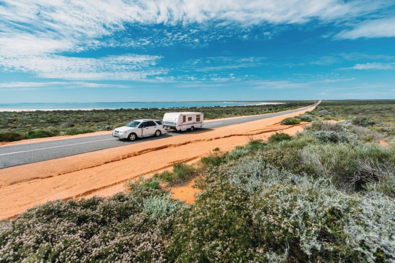 Shark Bay World Heritage Drive, Hamelin Pool, Western Australia
