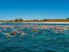 Shaw and Partners Doctor Surf Ski Race, Sorrento, Western Australia