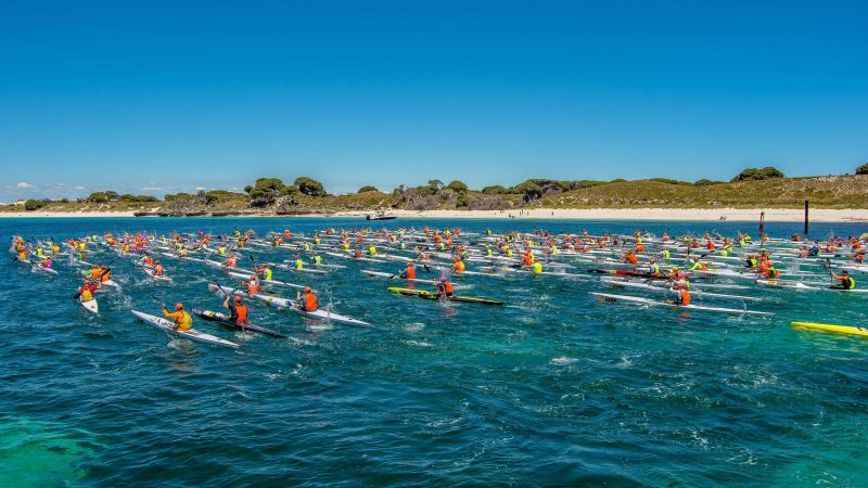Shaw and Partners Doctor Surf Ski Race, Sorrento, Western Australia