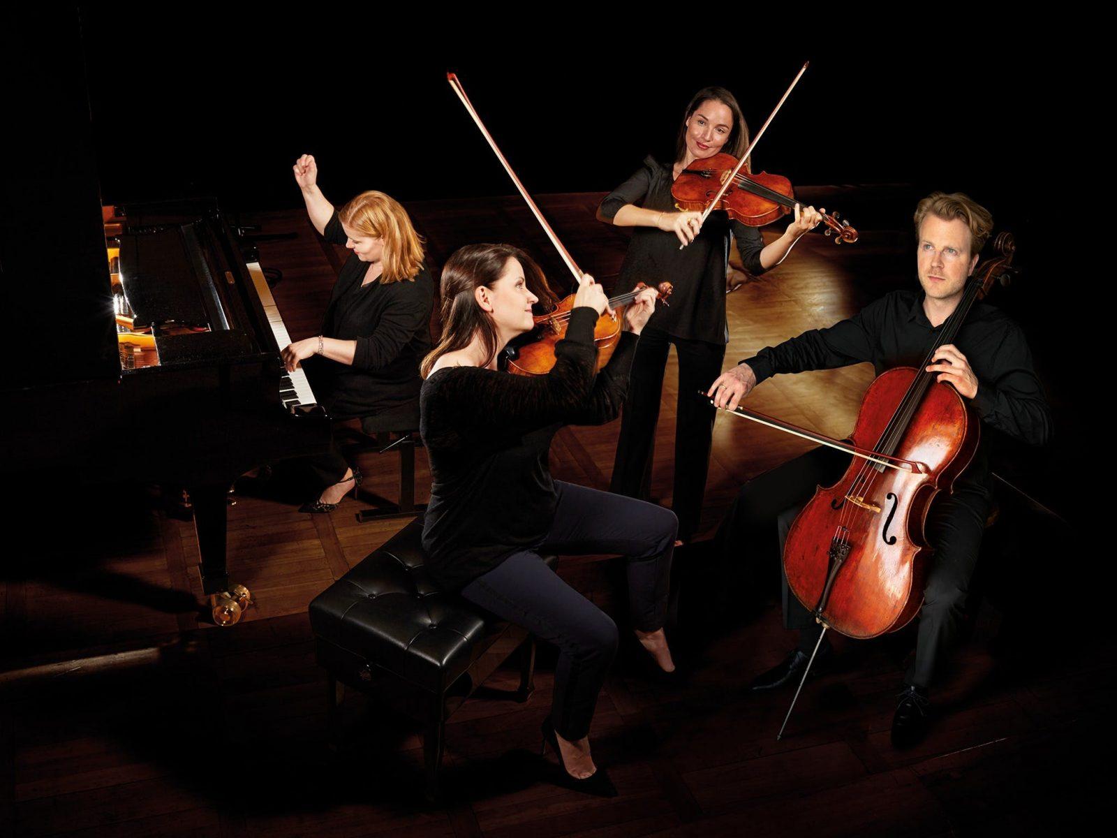 Skride Piano Quartet, Perth, Western Australia