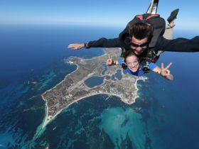 Skydive Geronimo, Rottnest Island, Western Australia