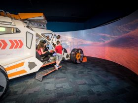 Space Academy at Scitech, West Perth, Western Australia