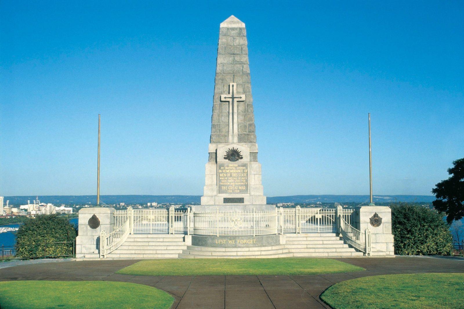 The State War Memorial, Kings Park, Western Australia