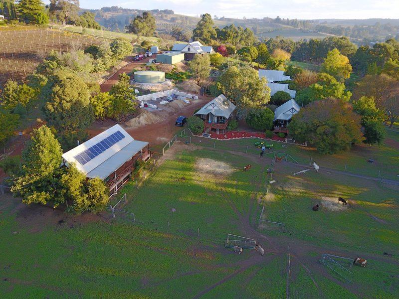 Sunnyhurst Chalets Farmstay, Bridgetown, Western Australia