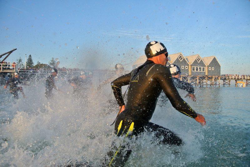 SunSmart Busselton Festival of Triathlon, Busselton, Western Australia.