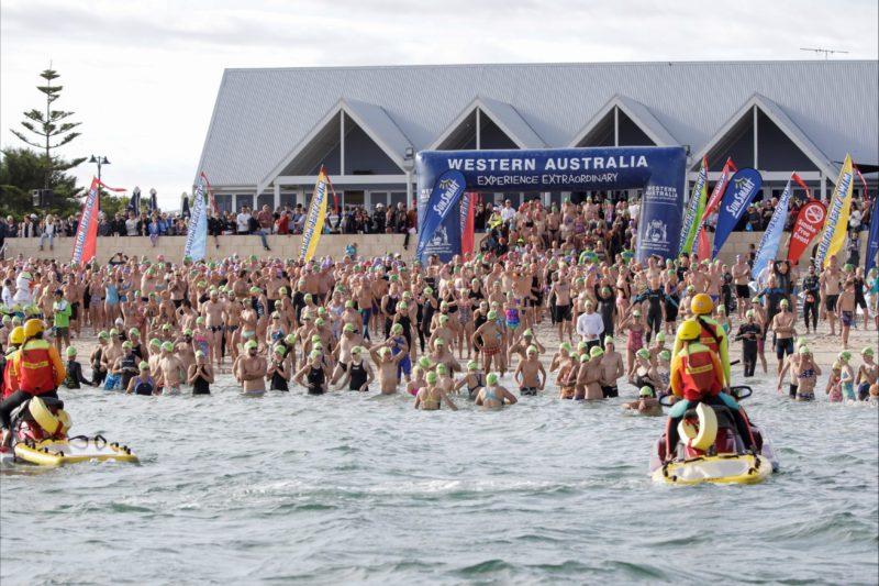 Busselton Jetty Swim 2018, Western Australia