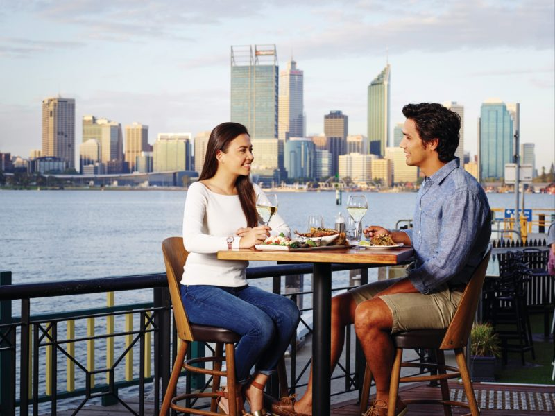 Dining by the Swan River