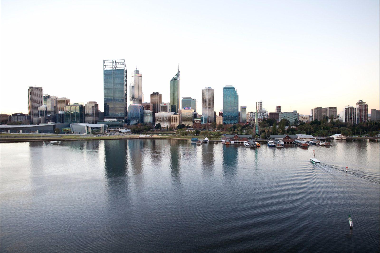 Swan River Foreshore, Perth, Western Australia