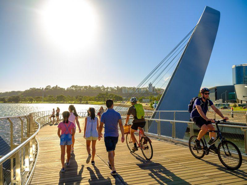 Swan River Walk Trail, Perth, Western Australia