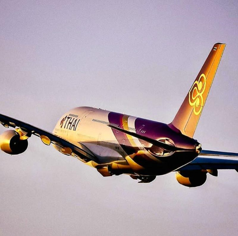 Thai Airways, Perth, Western Australia