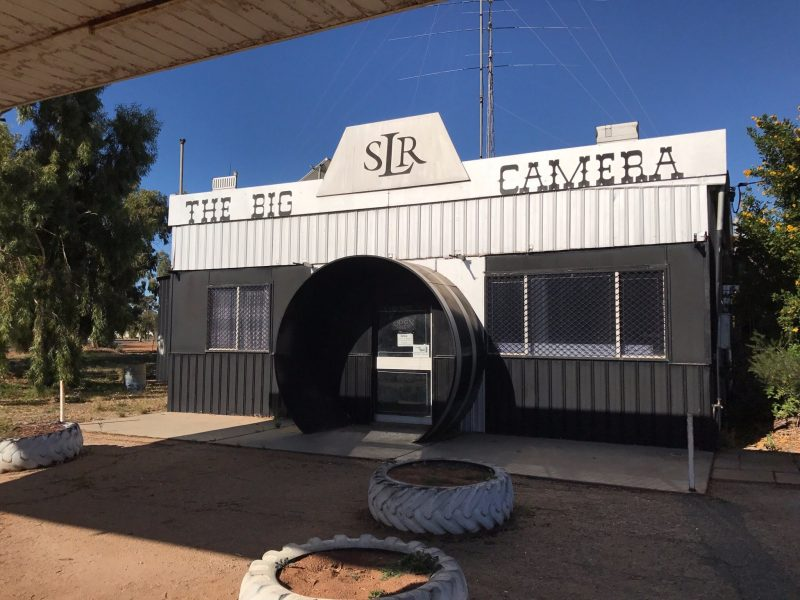 The Big Camera - Photographic Museum, Meckering, Western Australia