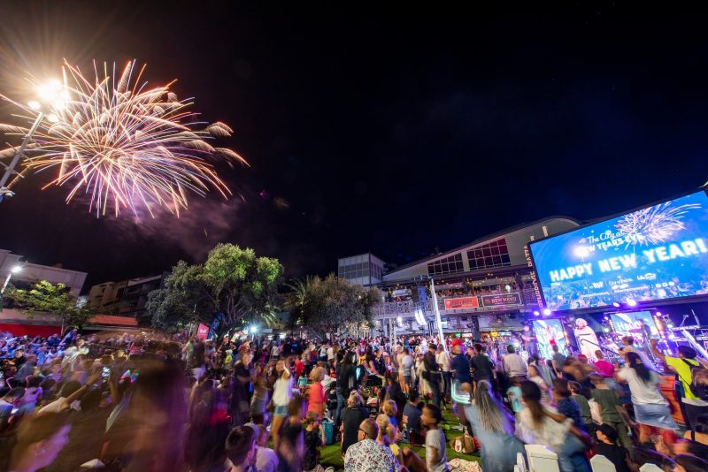The City at New Year's Eve, Perth, Western Australia