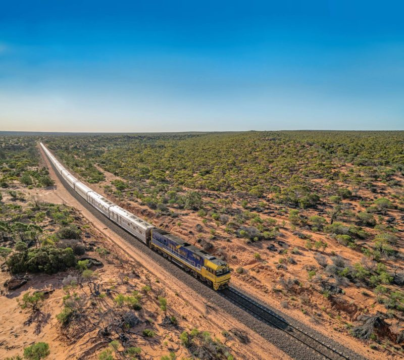 The Indian Pacific, West Perth, Western Australia