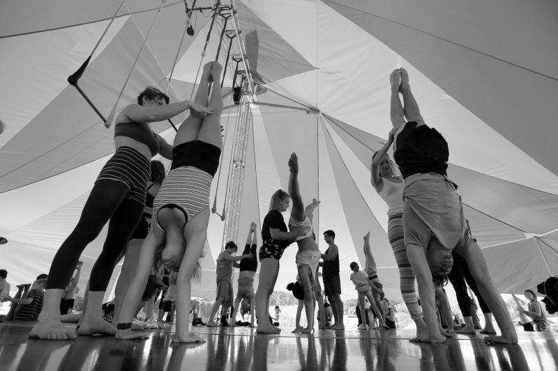 The International Training Project and Lunar Circus Summer School, Karridale, Western Australia
