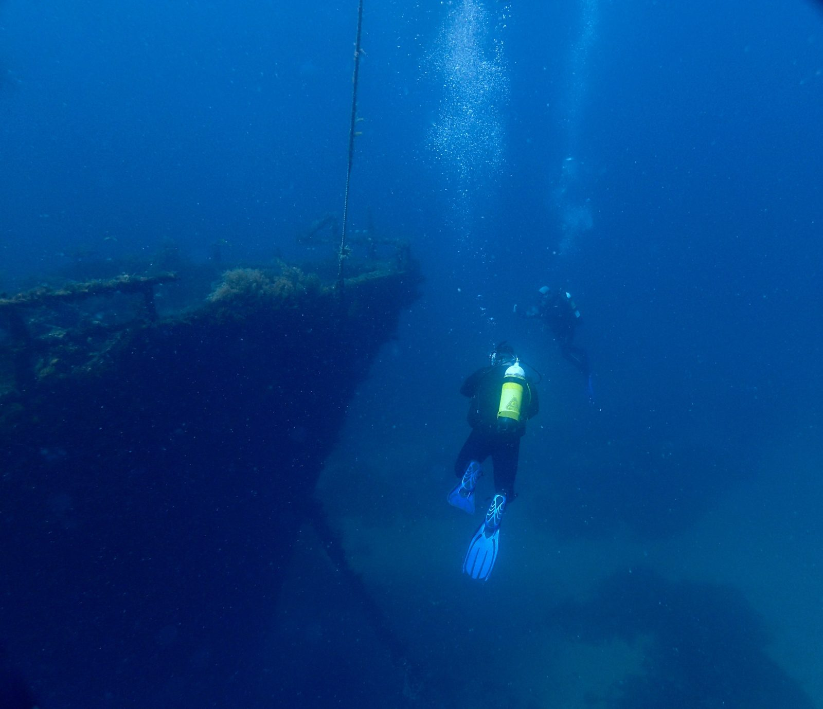 The Lena Dive Wreck, Bunbury, Western Australia