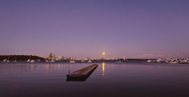 The Perth Moon Festival, Crawley, Western Australia