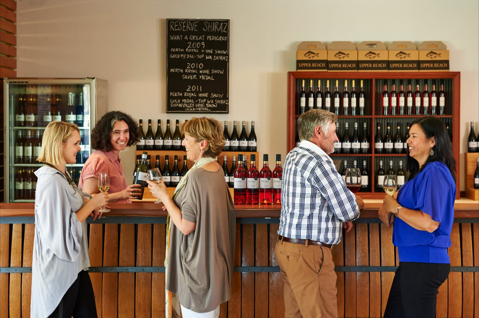Upper Reach Winery and Spa Cottage, Baskerville, Western Australia