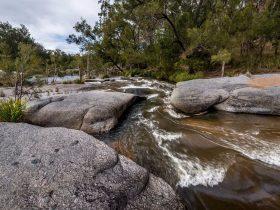 Wallaroo Rock Camp, Wallaroo Conservation Park, Western Australia