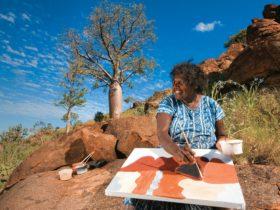 Warmun Art Centre, Kununurra, Western Australia