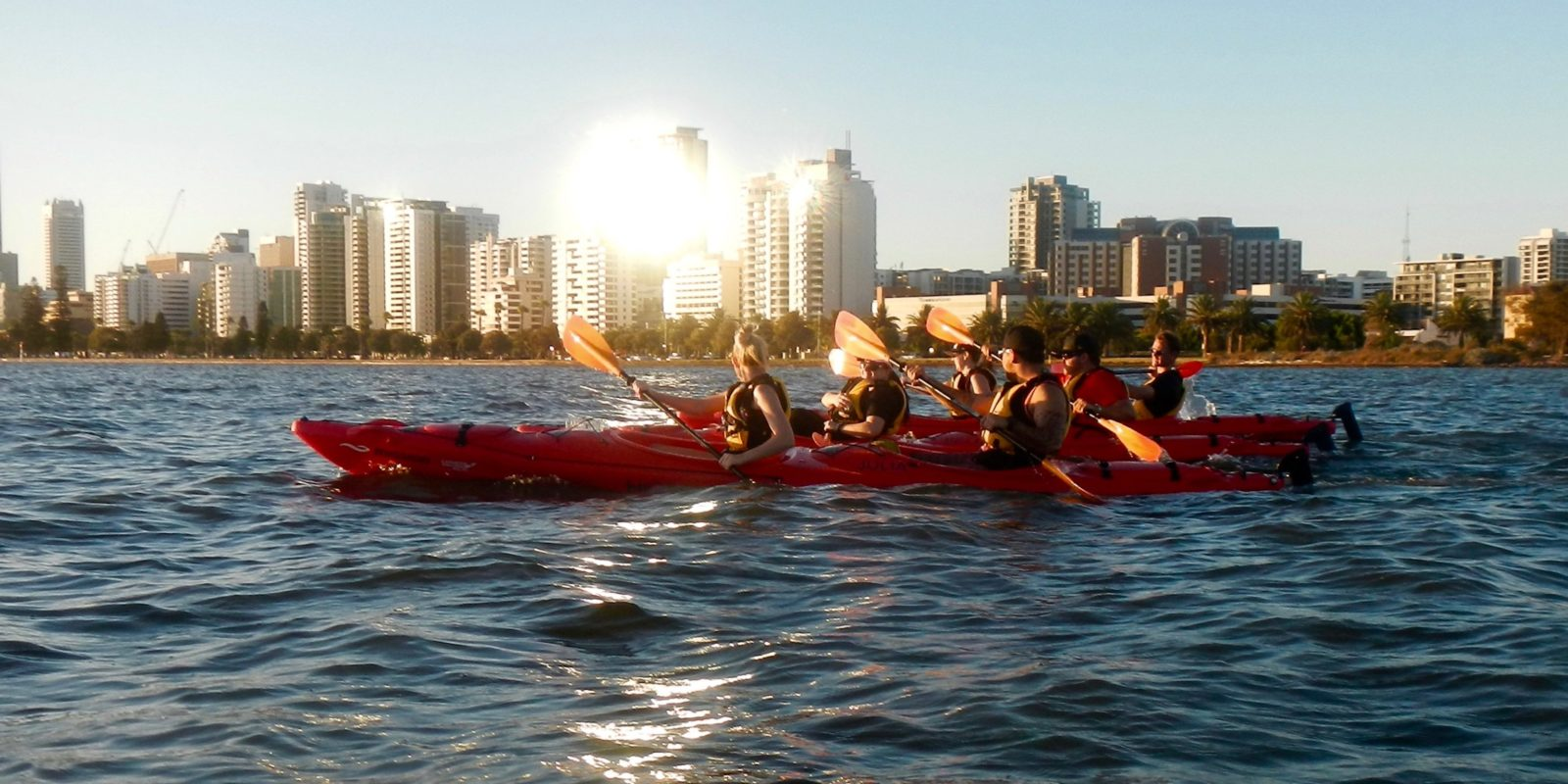 Water Wanderers Kayaking, South Perth, Western Australia