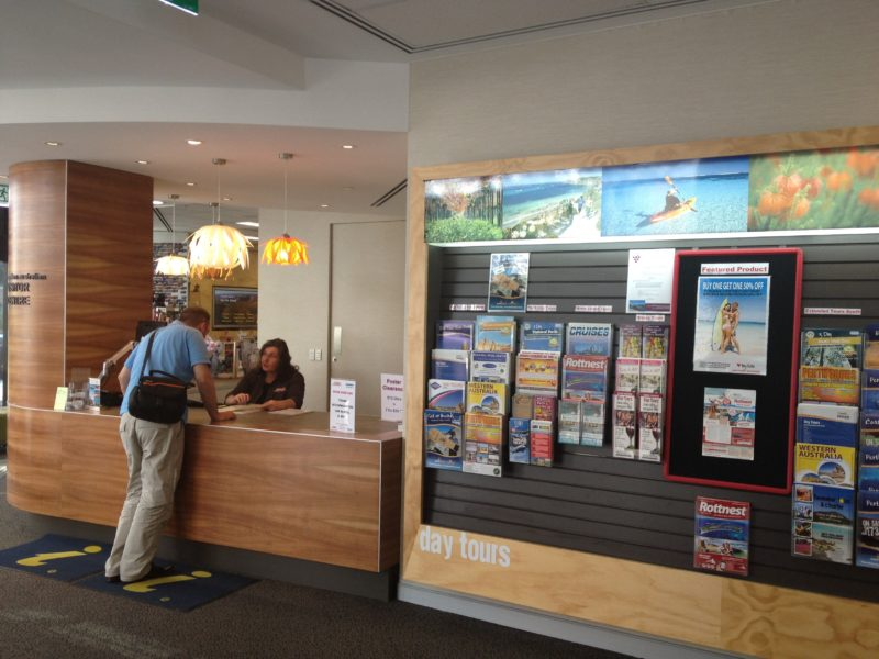 Western Australian Visitor Centre, Perth, Western Australia