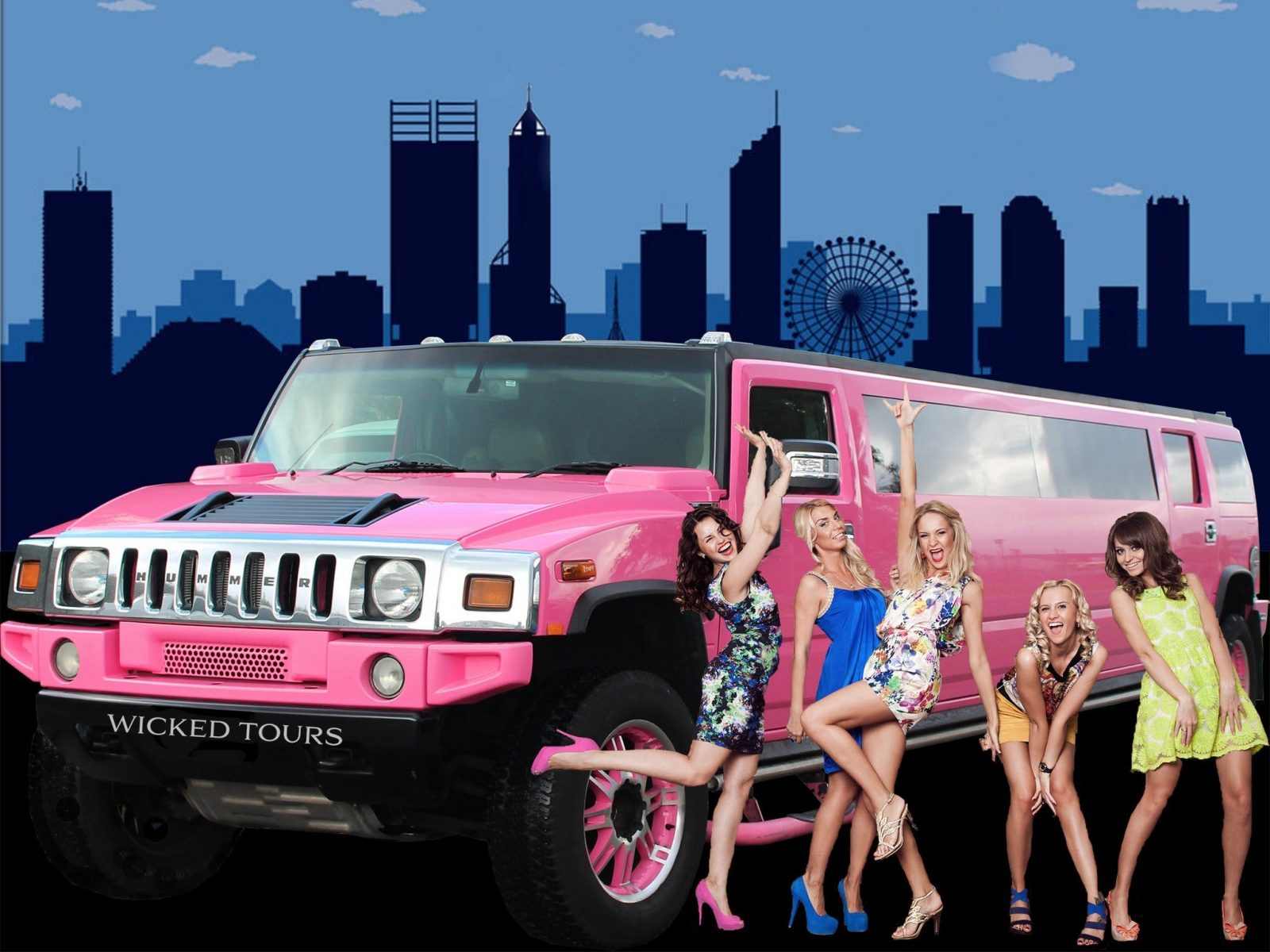 Wicked Limousines Hire, Perth, Western Australia