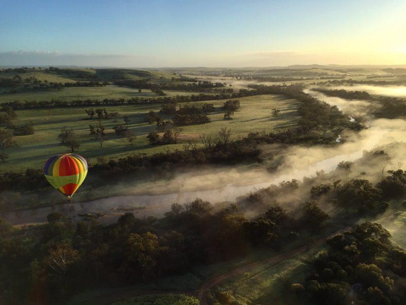 Windward Balloon Adventures, Northam, Western Australia