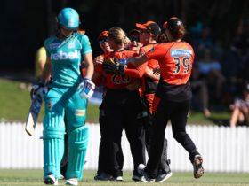 Perth Scorchers vs Brisbane Heat, Perth, Western Australia