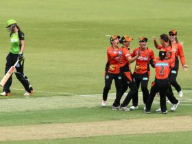 Women's Big Bash League - Perth Scorchers vs Sydney Thunder, Caversham, Western Australia