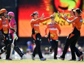 Women's Big Bash League Perth Scorchers vs Sydney Sixers, Caversham, Western Australia