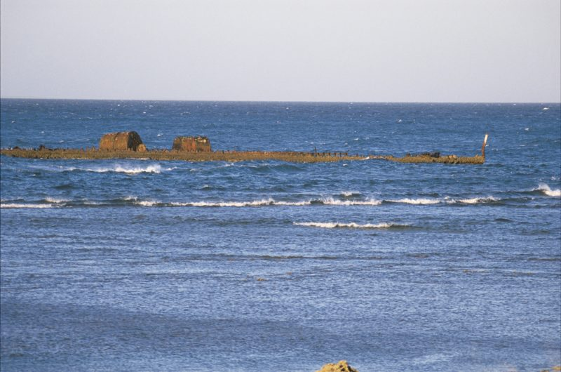 Wreck of SS Mildura, Exmouth, Western Australia